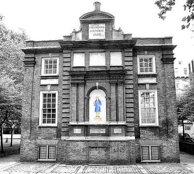 Little Red School House Photograph - Blewcoat School by Paul Fell
