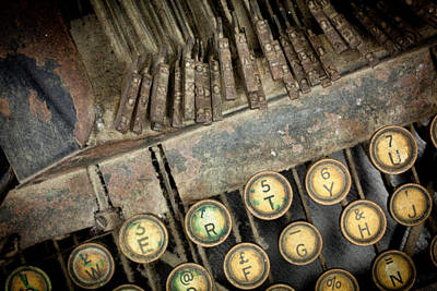 Photograph - Blick 90 Typewriter by John Magyar Photography