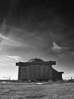 Photograph - Blimp Hangar At Tustin by Guy Whiteley