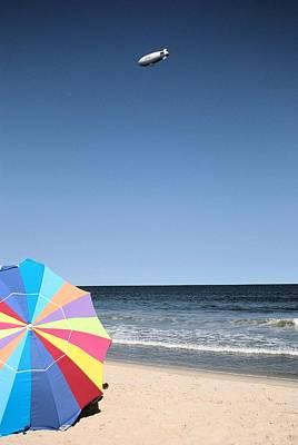 Blimp Over Seaside Original