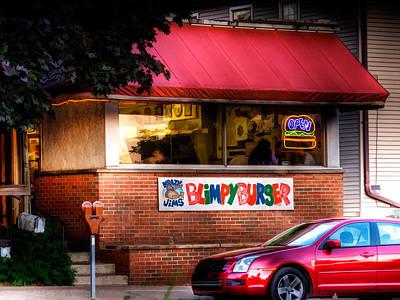 Blimpy Burger Art Print