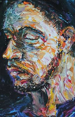 Blind Beggar Art Print by Carl Geenen