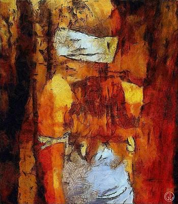 Woman Waiting Digital Art - Blind Date by Gun Legler