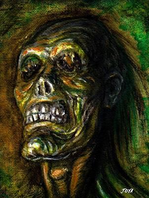 Universal Monsters Painting - Dead Blind by Jack Joya