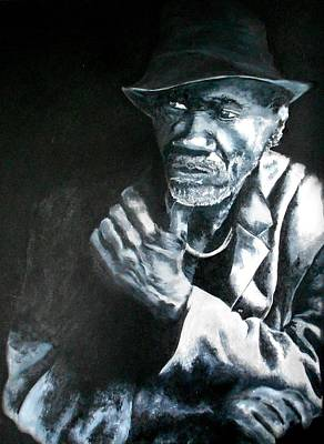 Painting - Blind Man Of Hindi by Maris Sherwood
