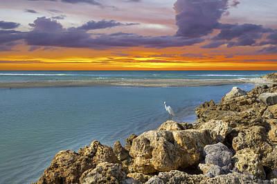 Photograph - Blind Pass Sunset by Sean Allen