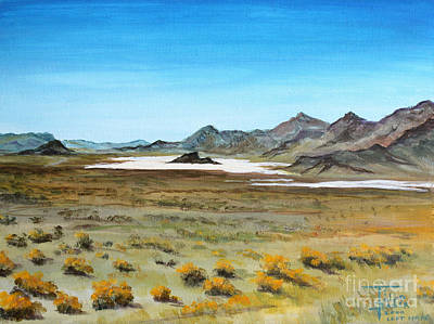Painting - Blind Valley - Utah by Art By - Ti   Tolpo Bader