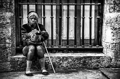 Photograph - Blind Women by Patrick Boening