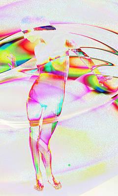 Digital Art - Blinded By The Light by Kiki Art