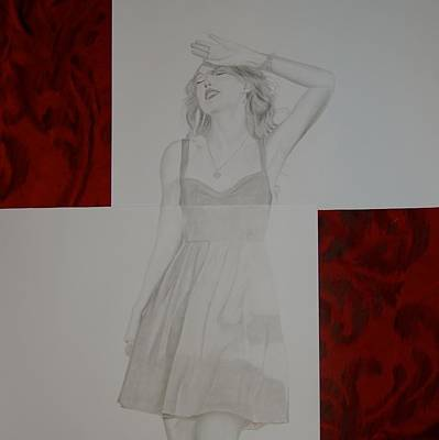 Taylor Swift Drawing - Blinded by Richie Wentworth
