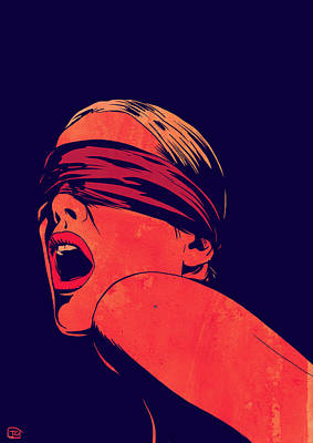 Blindfolded Art Print by Giuseppe Cristiano