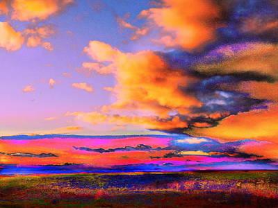 Blinn Hill View Art Print