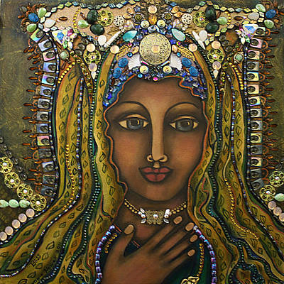 Visionary Artist Painting - Bliss by Marie Howell Gallery