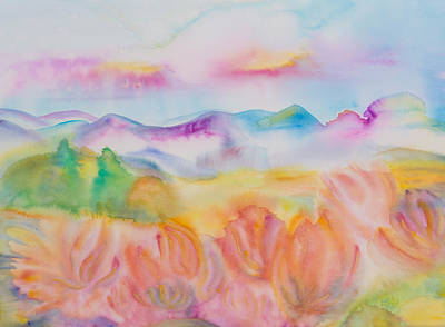 Aotearoa Painting - Bliss Of Ease by Evita Kristapsone