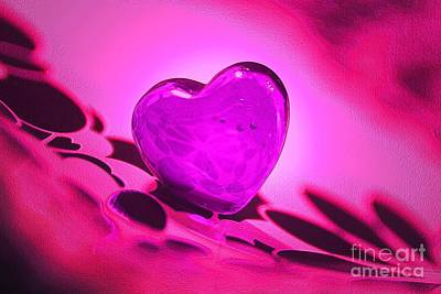 Wild At Heart Mixed Media - Bliss by Robert Marlon
