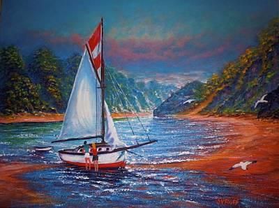 Painting - Blissful Moment by Joseph   Ruff