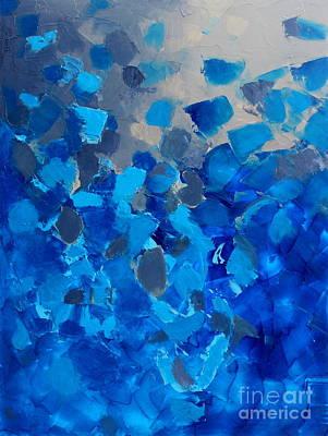 Painting - Blissful by Preethi Mathialagan