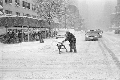 Photograph - Blizzard Crossing by Dave Beckerman