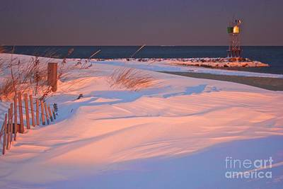 Photograph - Blizzard Juno Sunset by Amazing Jules