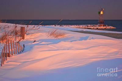 Photograph - Blizzard Juno Sunset by Amazing Jules