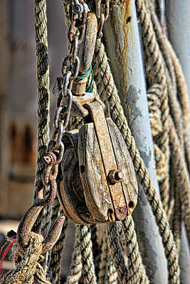 Photograph - Block And Tackle by Lynn Jordan