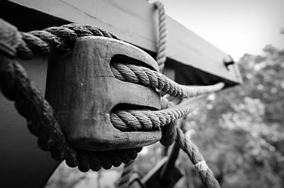 Block And Tackle Art Print by Michael Donahue