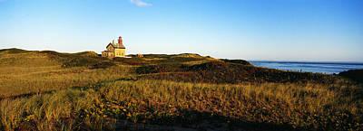 Block Island Photograph - Block Island Lighthouse Rhode Island Usa by Panoramic Images