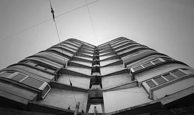 Photograph - Block Of Flats by Vlad Baciu
