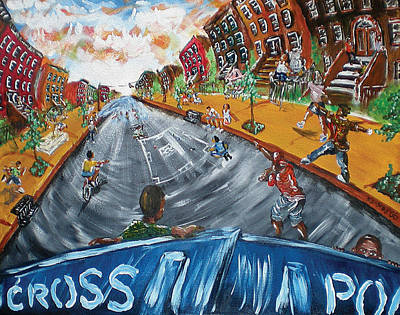 Block Party Painting - Block Party by Ka-Son Reeves