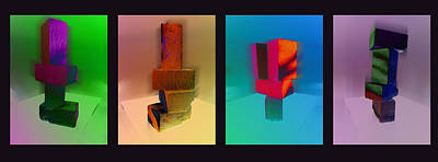 Photograph - Blocks by David Pantuso