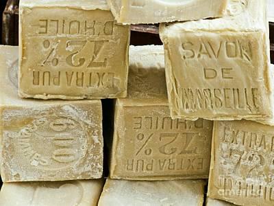 Beauty Mark Photograph - Blocks Of Soap by Martyn F. Chillmaid