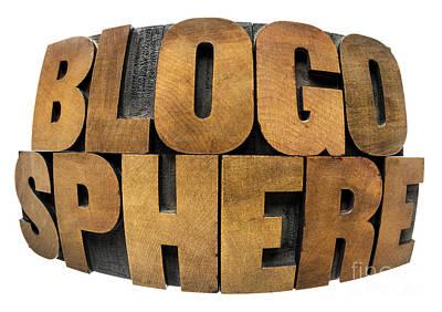 Blogosphere  Art Print