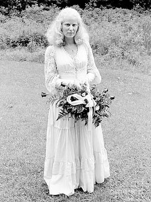 Photograph - Blonde Bride 1979 by Ed Weidman