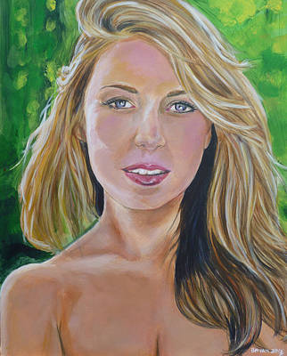 Painting - Blonde by Bryan Bustard