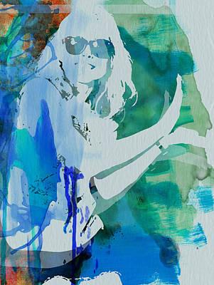Band Painting - Blondie by Naxart Studio