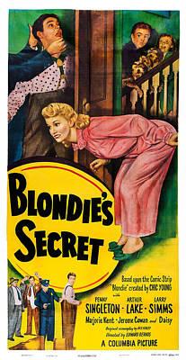 Blondies Secret, Us Poster, Top Art Print by Everett