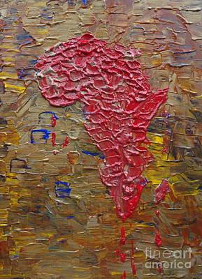 Blood Africa Original by Jacqueline Athmann
