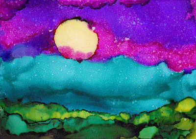 Painting - Blood Moon by Angela Treat Lyon
