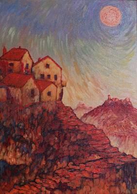 Empathy Painting - True Self Verses Ego False Self by Charles Munn