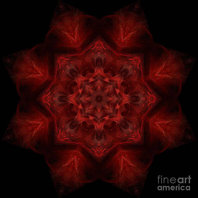 Digital Art - Blood Of Me by Rhonda Strickland
