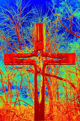 Photograph - Blood On The Cross by Cathy Shiflett