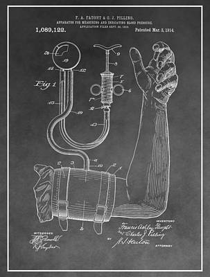 Blood Pressure Machine Art Print