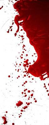 Blood Splatter  Original by Holly Anderson