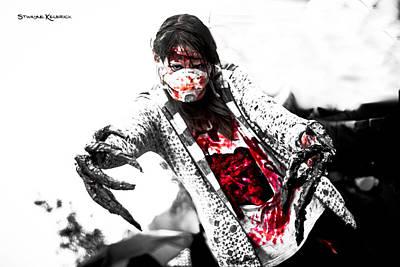 Abstract Trees Mandy Budan - Bloody death claws by Stwayne Keubrick