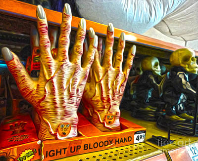 Photograph - Bloody Hands by Gregory Dyer