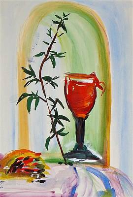 Bloody Mary Painting - Bloody Mary Still Life by Troy Thomas