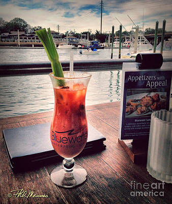 Bloody Mary With A View Art Print