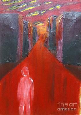 Bloody Notstalgia Art Print by Safa Al-Rubaye