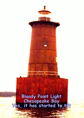 Photograph - Bloody Point Lighthouse by John Potts
