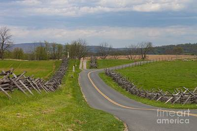 Politicians Royalty-Free and Rights-Managed Images - Bloody Road Antietam by Thomas Marchessault
